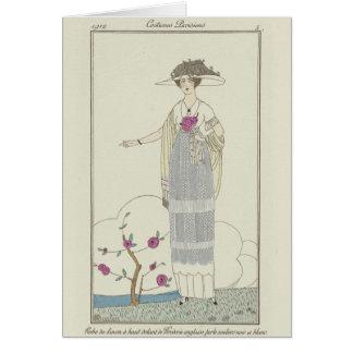 Cartão da senhora Natal da flor