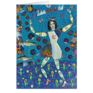 Cartão da Senhora Pureza