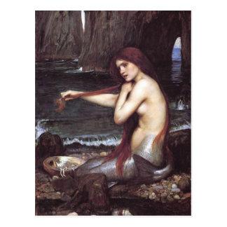 Cartão da sereia