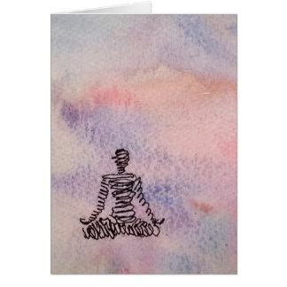 Cartão da serenidade