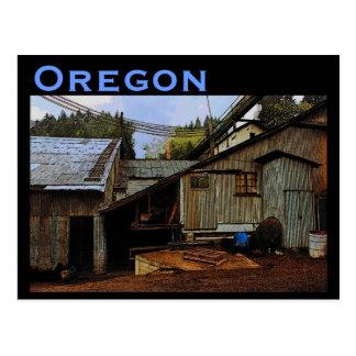 Cartão da serração de Oregon
