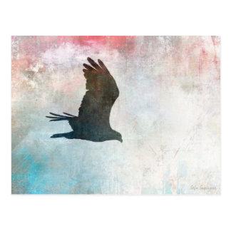 Cartão da silhueta do Osprey