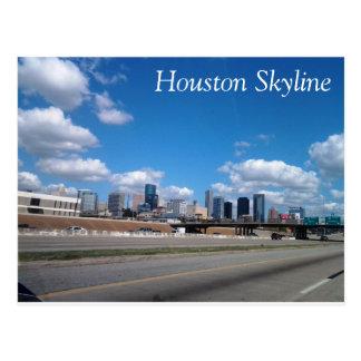 Cartão da skyline de Houston