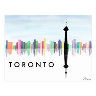 Cartão da skyline de Toronto Cartão Postal
