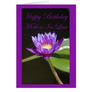 Cartão da sogra do aniversário