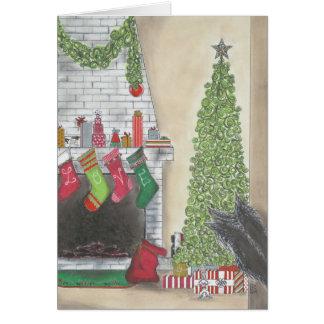 Cartão da surpresa do Natal