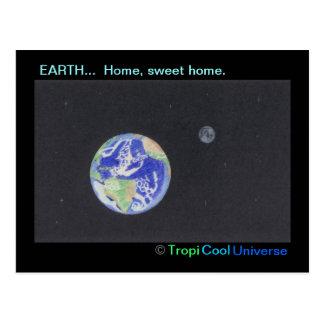 Cartão da TERRA do planeta