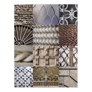 Cartão da textura de Verona