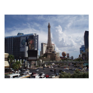 Cartão da tira de Las Vegas