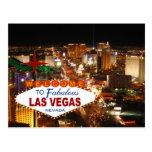 Cartão da tira de Las Vegas Cartões Postais