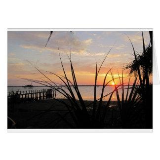 cartão da Todo-ocasião com a foto do por do sol