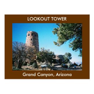 Cartão da torre da vigia