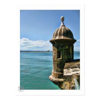 Cartão da torre do EL Morro
