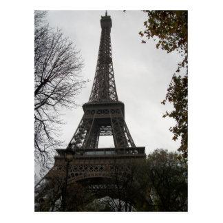Cartão da torre Eiffel