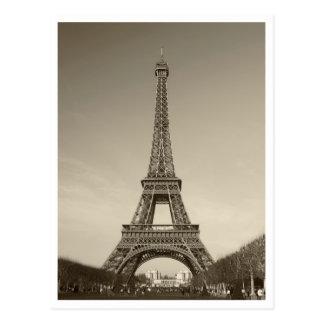 Cartão da torre Eiffel Cartoes Postais