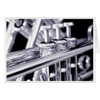 Cartão da trombeta