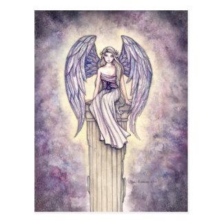 Cartão da vara do anjo por Molly Harrison