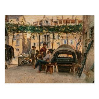Cartão da Veneza de Roussoff