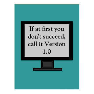 Cartão da versão 1,0