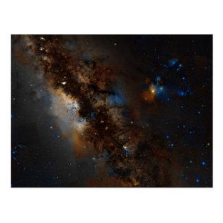 Cartão da Via Láctea