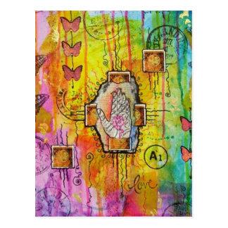 Cartão da vida e do amor