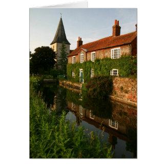 Cartão da vila de Bosham