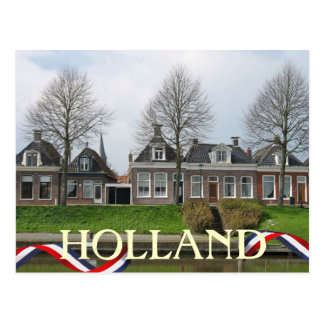 Cartão da vila de Holland