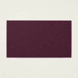 Cartão da visita da empresa: edição roxa
