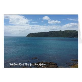 Cartão da vista para o mar