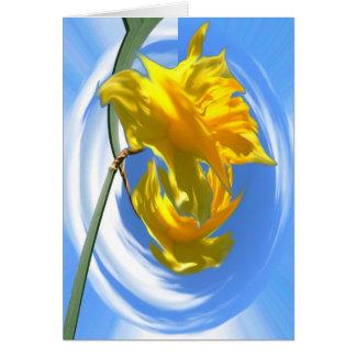 Cartão Daffodil Dayz