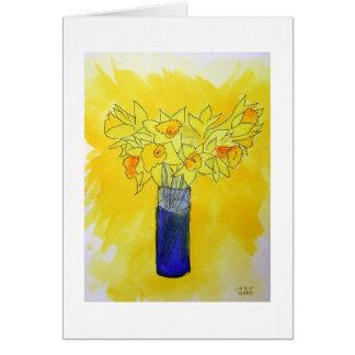 Cartão Daffodils