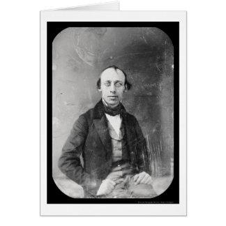 Cartão Daguerreotype 1848 de Cornelius Mathews do
