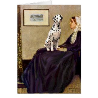 Cartão Dalmatian 1 - Mãe dos assobiadores