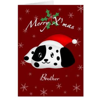 Cartão Dalmatian 2 do irmão