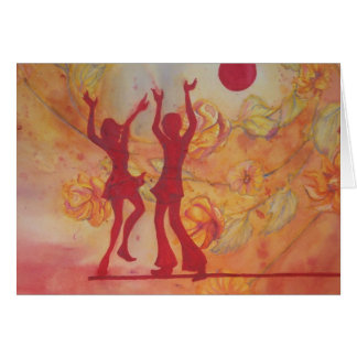 Cartão Dança