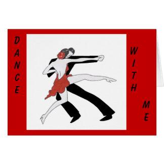Cartão Dança comigo