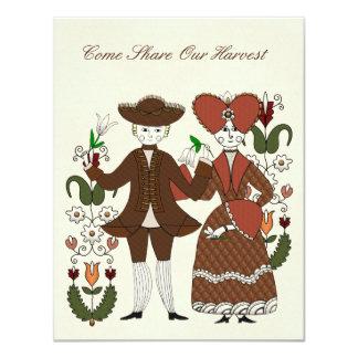 Cartão Dança da colheita