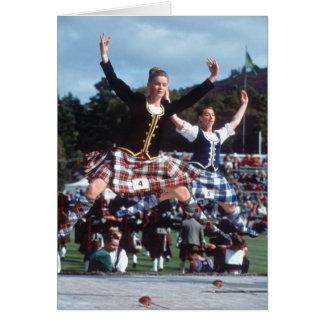 Cartão Dança das montanhas