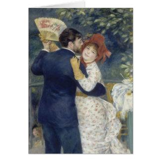 Cartão Dança de país CC0442 de Pierre-Auguste Renoir