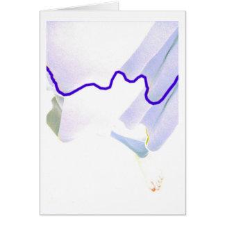 Cartão dança de solo