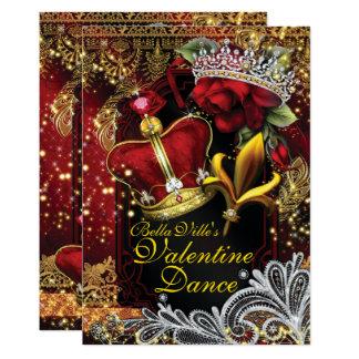 Cartão Dança do baile de formatura do regresso a casa da