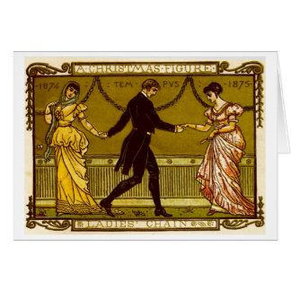 Cartão Dança do Natal