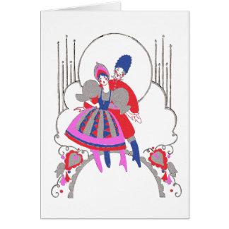 Cartão Dança do russo