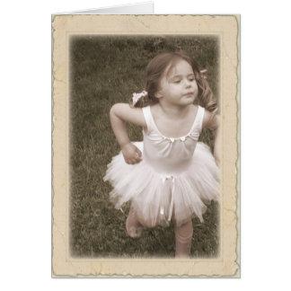 Cartão Dança dos miúdos