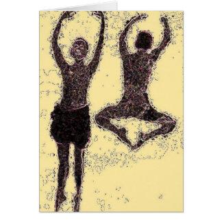 Cartão Dança para a alegria