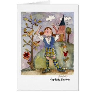 Cartão Dançarino das montanhas