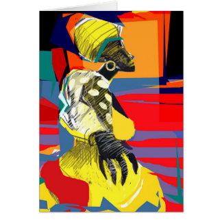 Cartão Dançarino de Candombe