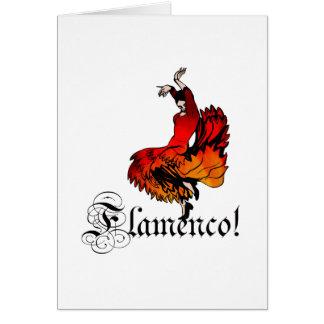 Cartão Dançarino do Flamenco