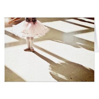 Cartão Dançarino minúsculo II
