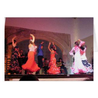 Cartão Dançarinos do Flamenco de Córdova